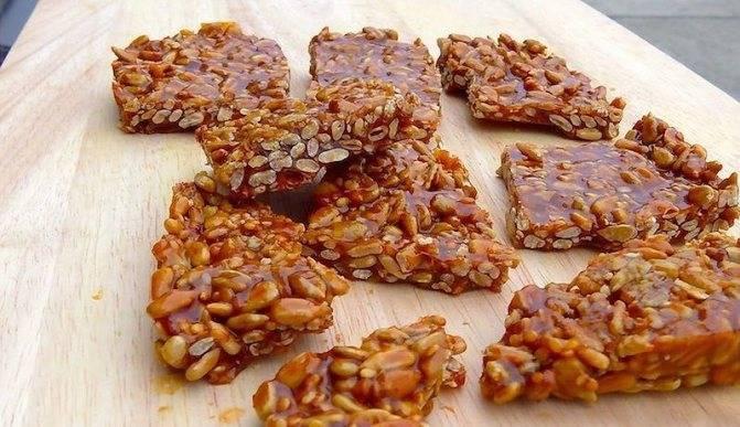 Козинаки: польза и вред, калорийность козинаков из подсолнечника, кунжута, орехов