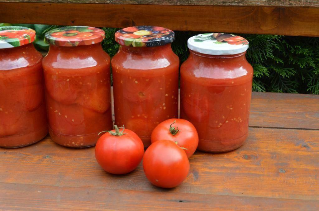 Рецепты приготовления помидоров в собственном соку на зиму