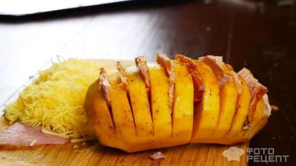 Картошка с сыром и беконом в духовке по швейцарски рецепт с фото пошагово и видео - 1000.menu