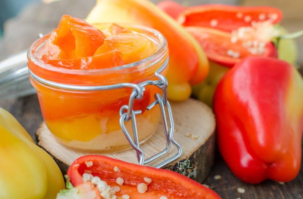 Маринованный сладкий перец на зиму без стерилизации — как мариновать перец болгарский на зиму, пошаговый рецепт с фото