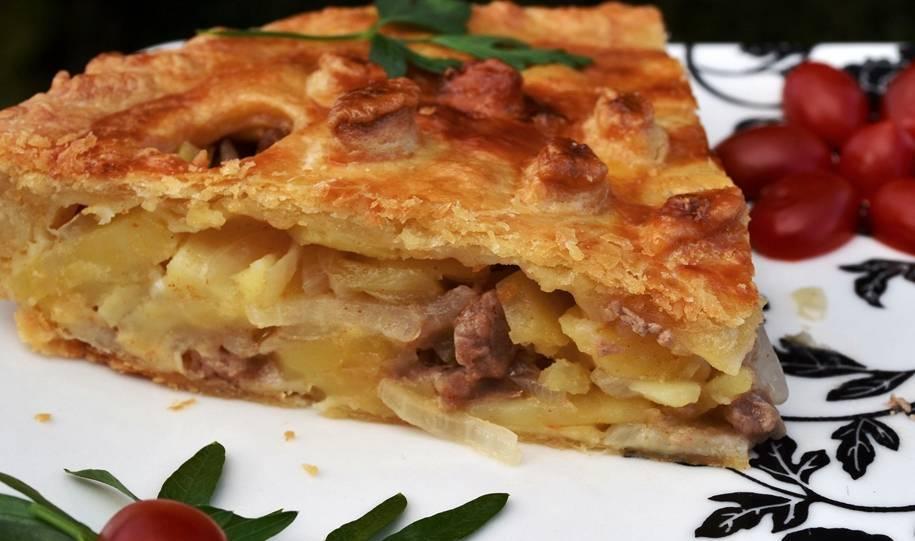 Пироги с мясом и картошкой в духовке и не только: 80 рецептов
