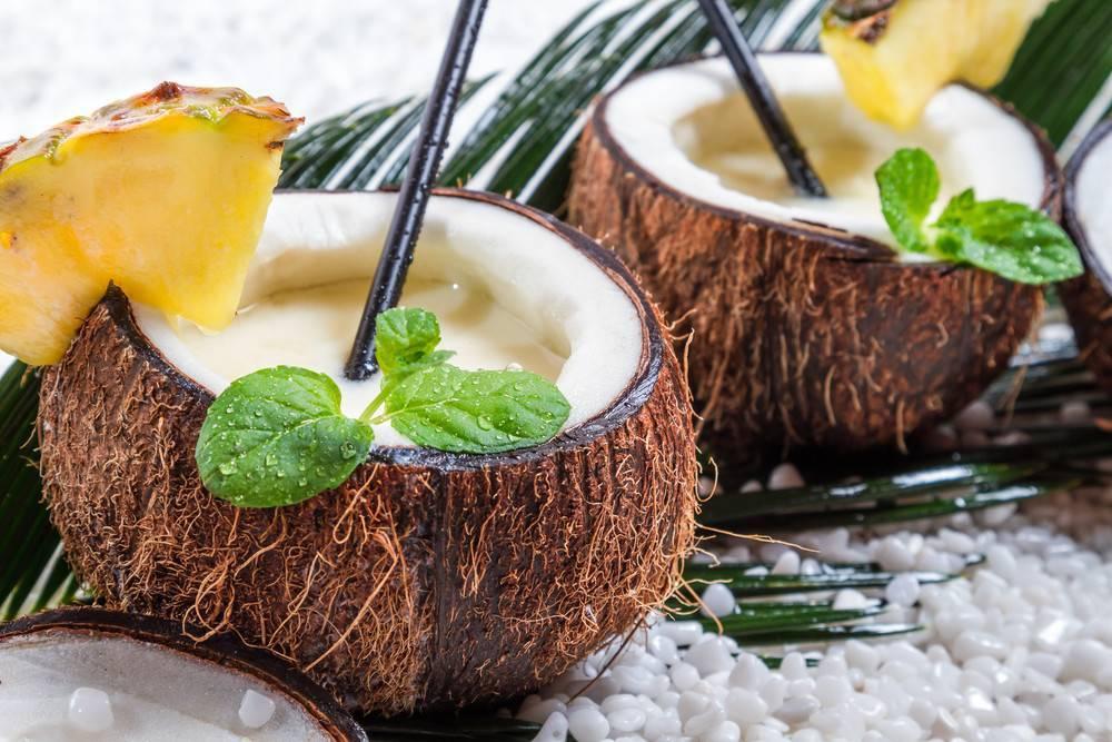 Как едят кокос