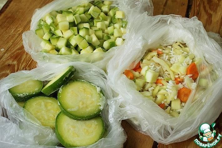 Заготавливаем кабачки на зиму. домашние рецепты заморозки