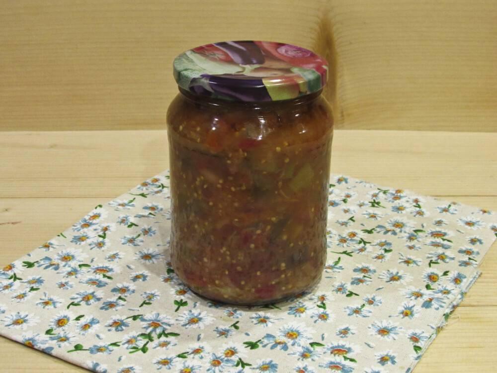 Салат баклажаны с фасолью на зиму – идеальная полезная закуска с отменным вкусом: рецепт с фото и видео