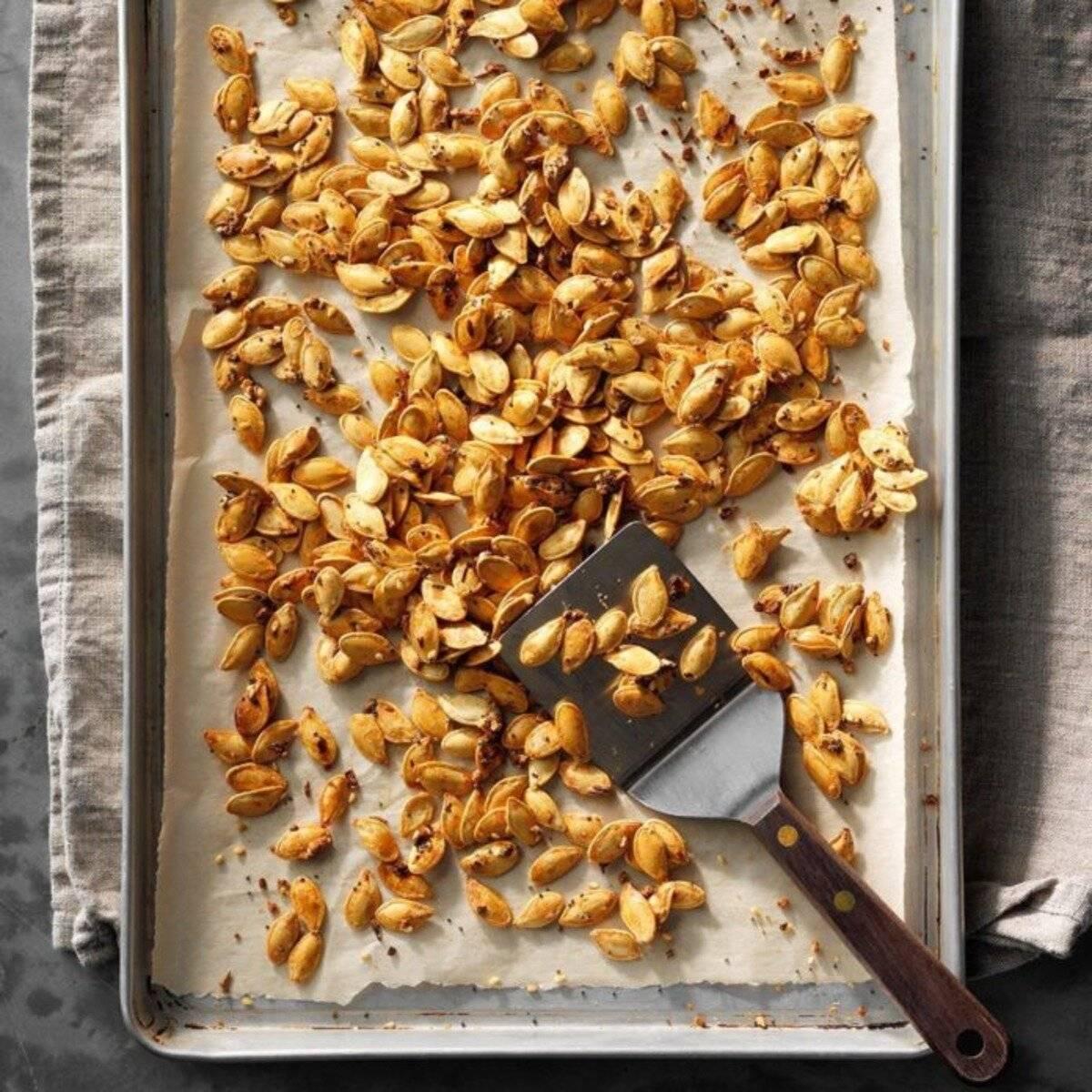 Как пожарить тыквенные семечки на сковороде