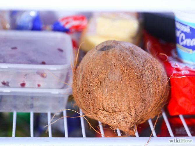 Где, сколько и как хранить кокос в домашних условиях