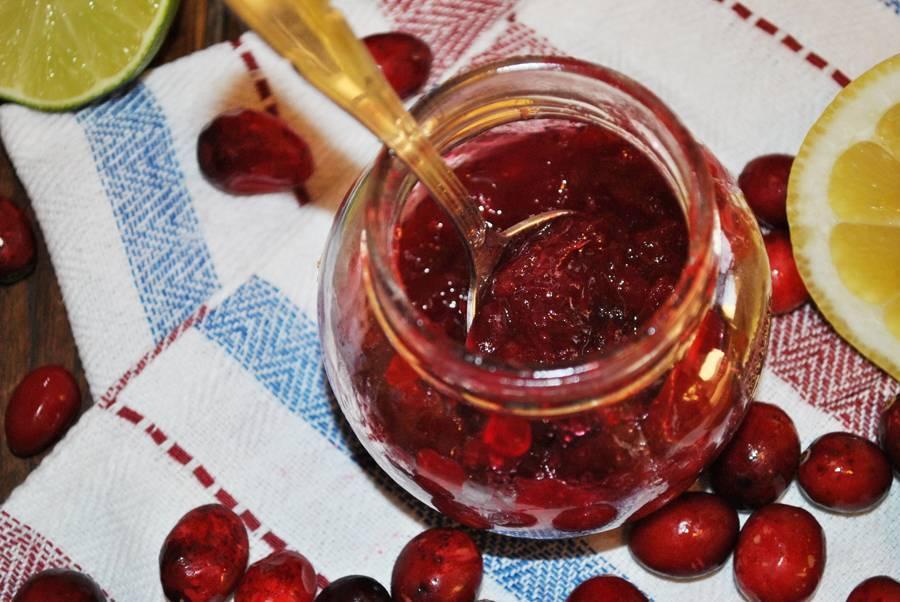 Варенье из брусники на зиму: простой рецепт с яблоками