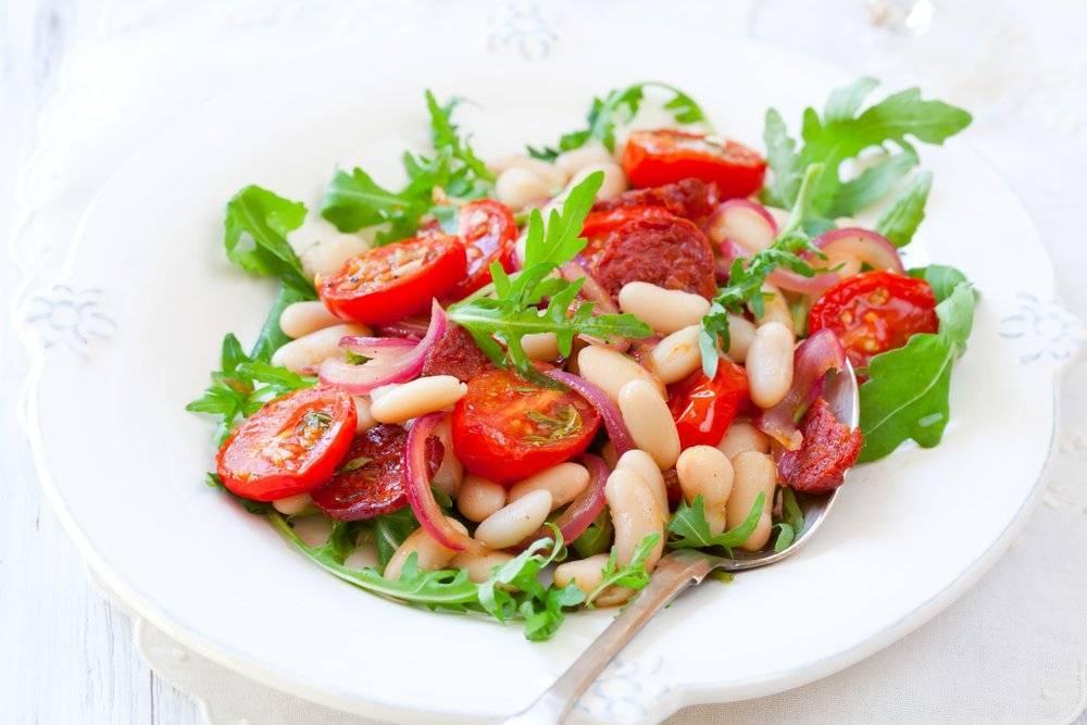 "Салат ""по-брестски"" с помидорами"