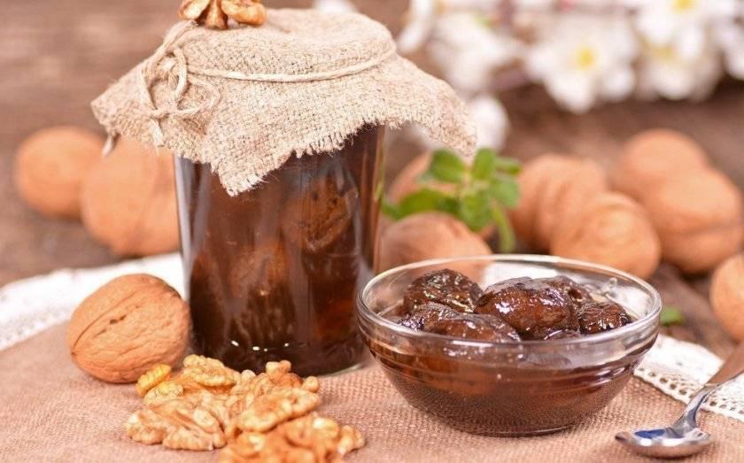 Маньчжурский орех и варенье из него его польза и вред