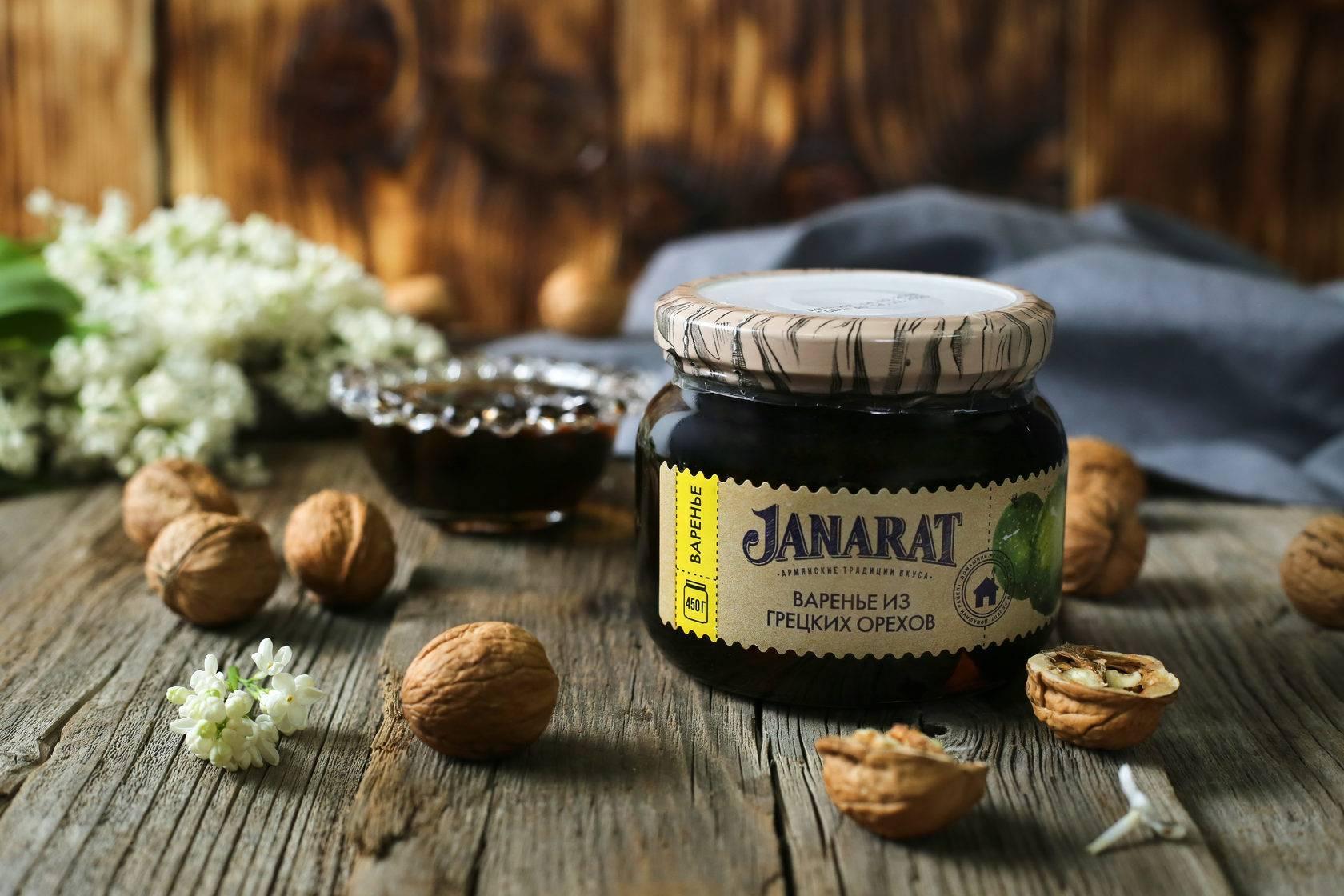 Варенье из маньчжурского ореха: рецепт приготовления