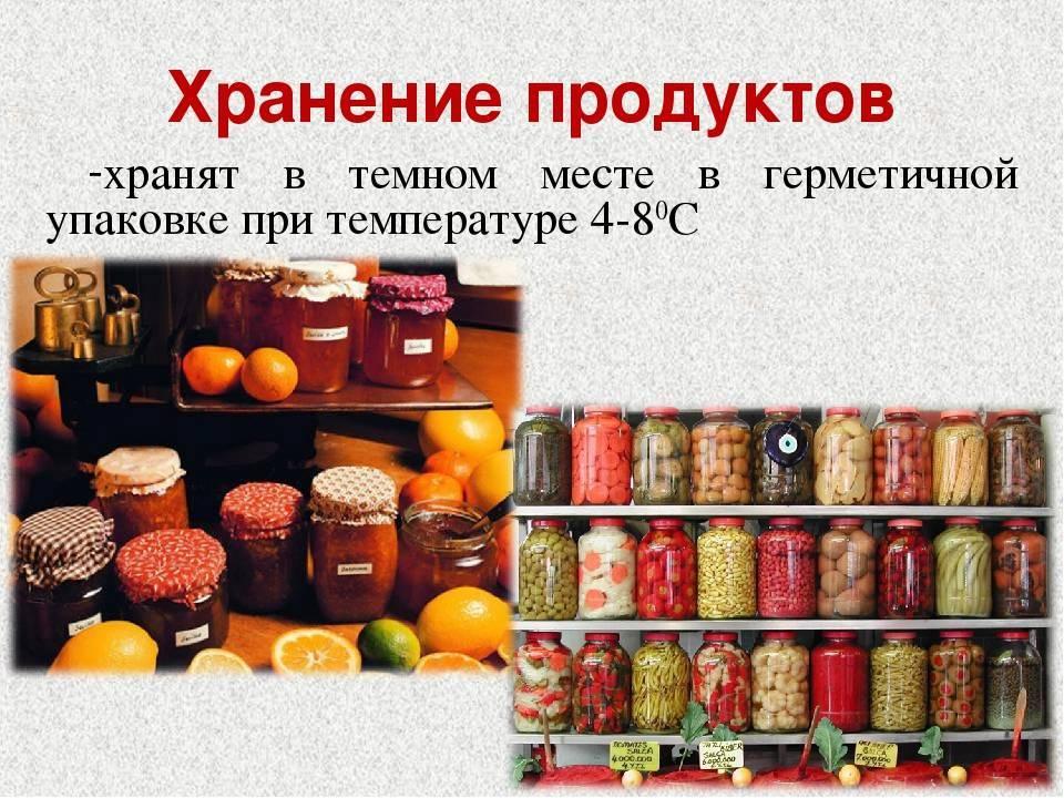 Где и как хранить открытые консервы в жестяных банках дома чтобы не отравиться