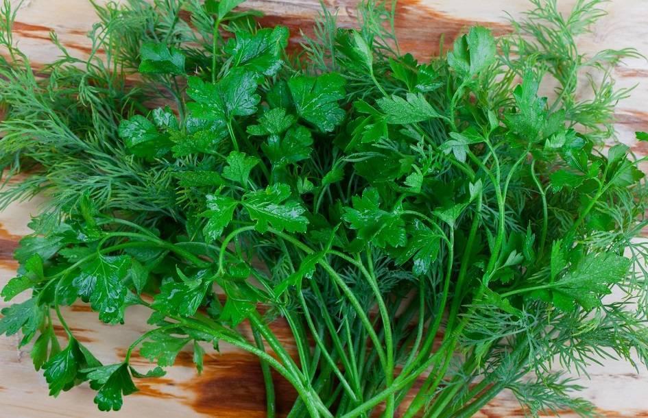 Приправа из сушенных трав и овощей