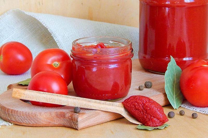 Как приготовить томатную пасту на зиму :: syl.ru