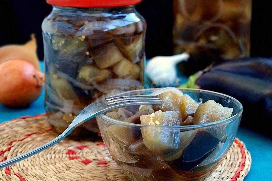Баклажаны  на зиму – подробные рецепты с описанием и фото