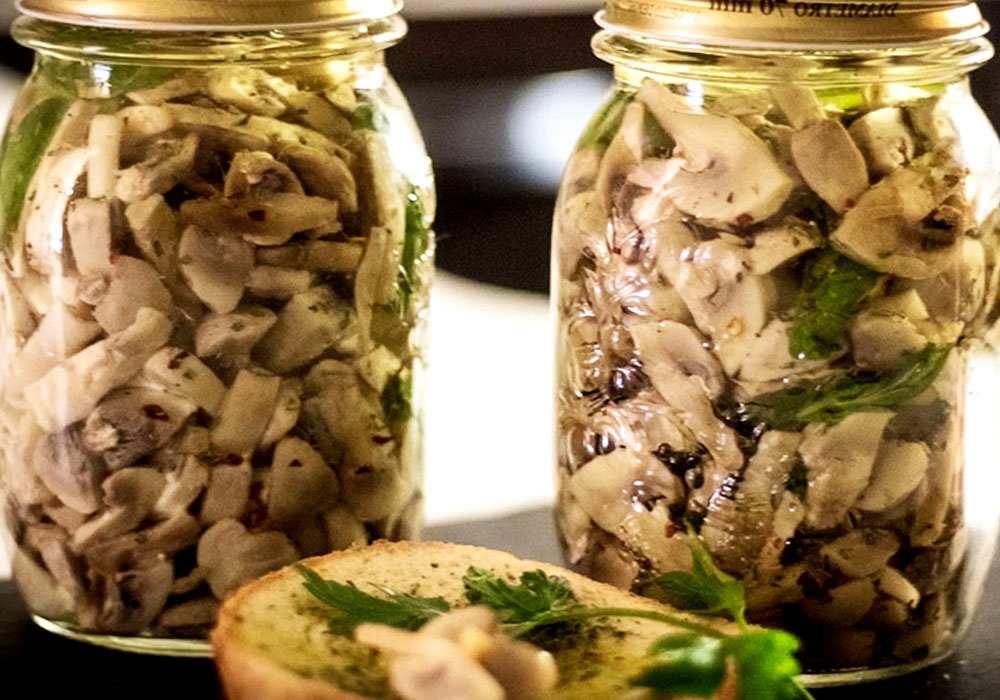 Маринованные грибы шампиньоны: как заготовить на зиму в домашних условиях (+24 фото)