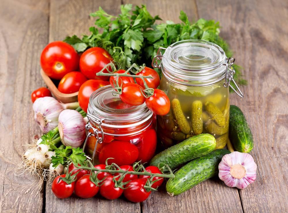 Маринование плодов, ягод, овощей