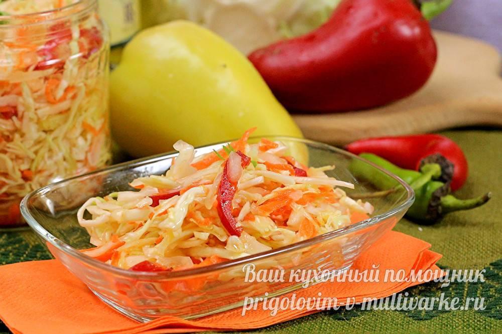 Капуста квашеная с болгарским перцем на зиму: как приготовить закуску по лучшим рецептам