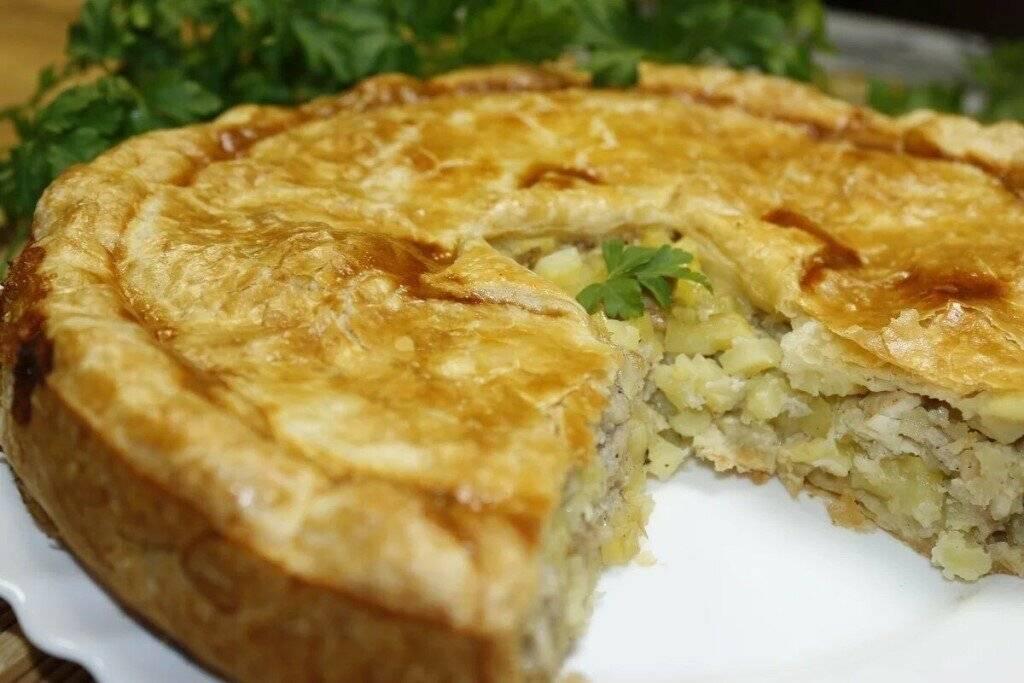 Мясные картофельные пироги с мясом и картошкой - 71 рецепт - 1000.menu