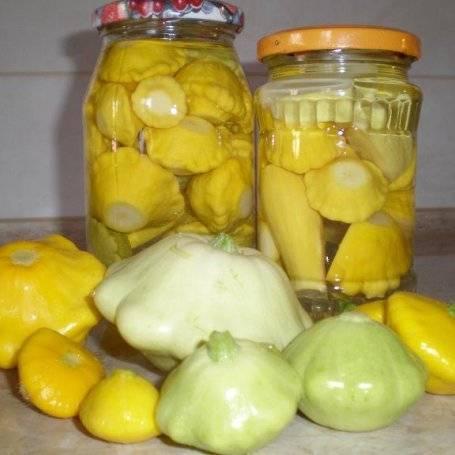 Салат из патиссонов на зиму - очень полезный и вкусный овощ: рецепт с фото и видео