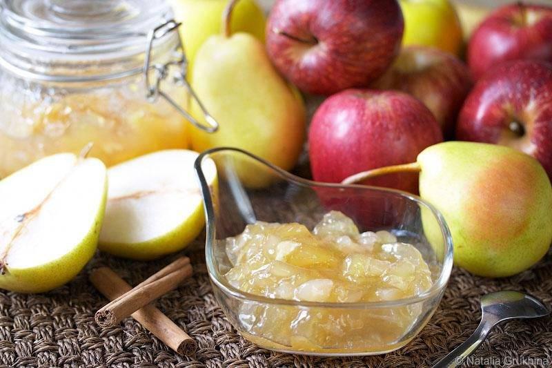 Варенье из яблок пятиминутка, из кислых, зеленых, садовых