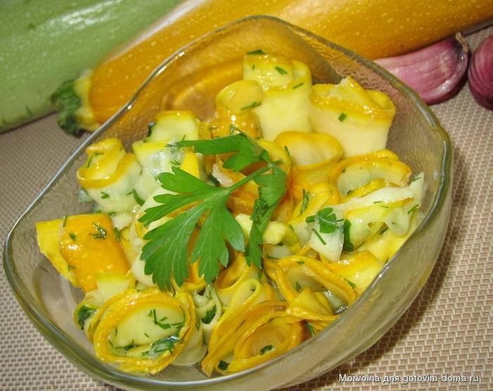 Кабачки маринованные мгновенного поедания: безумно вкусно и просто