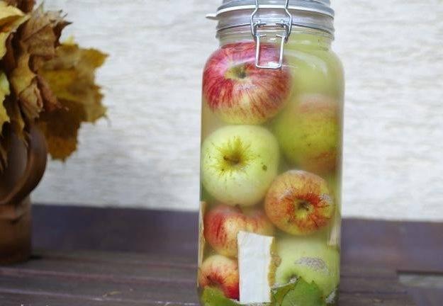 Моченые яблоки на зиму простой рецепт