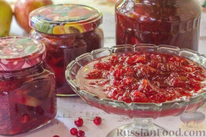 Рецепт конфитюра из брусники: готовим разными способами и с добавками