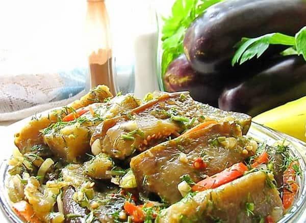 Рецепты маринованных баклажан – готовим быстро и вкусно