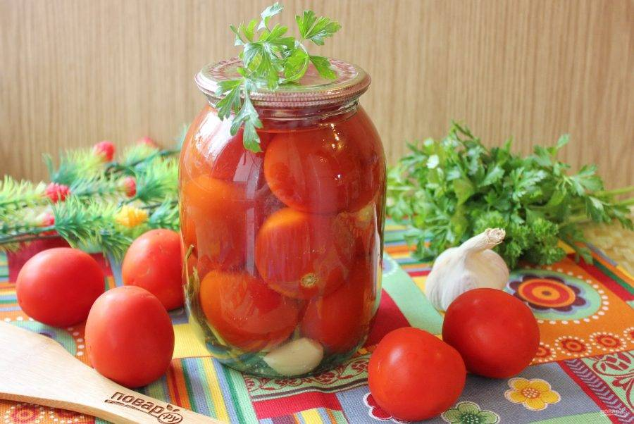 Рецепт помидоры с хреном, соленые по-сибирски