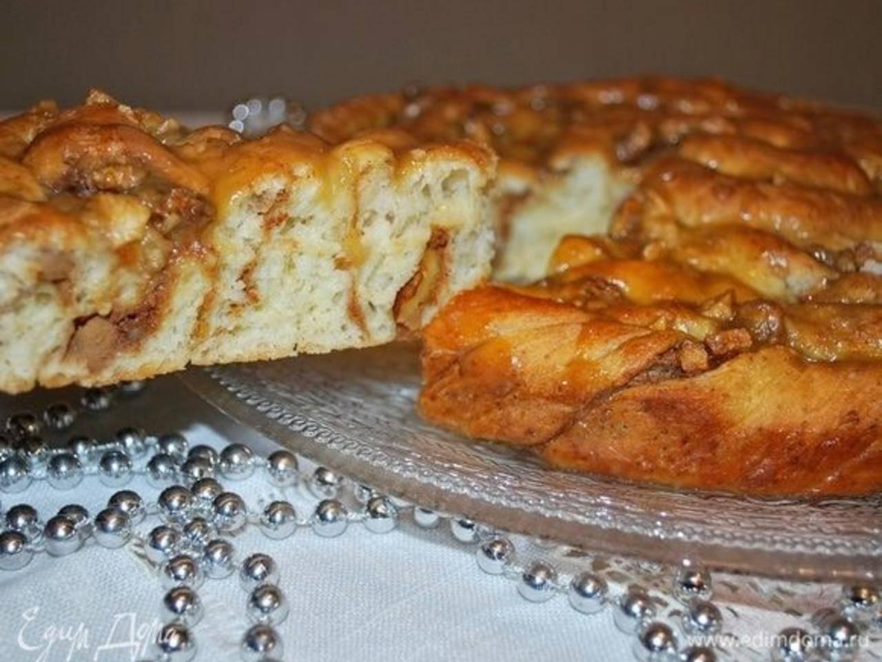 Ореховый пирог с орехами - 209 рецептов - 1000.menu