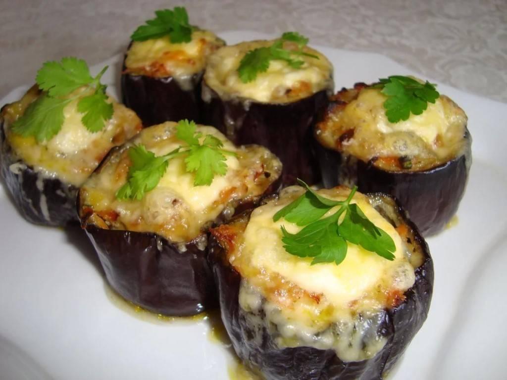 Фаршированные баклажаны – 10 рецептов в духовке с пошаговыми фото