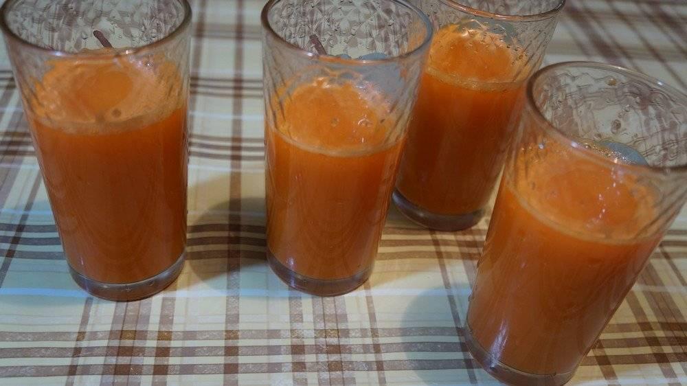 Как сделать морковный сок - лучшие рецепты