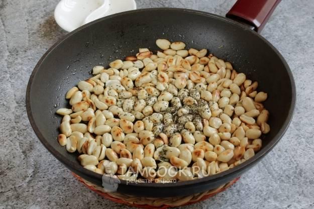 Как пожарить арахис на сковороде с солью - пошаговый рецепт