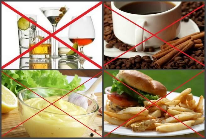 Правильное питание при подагре ног в период обострения: меню на неделю, рецепты