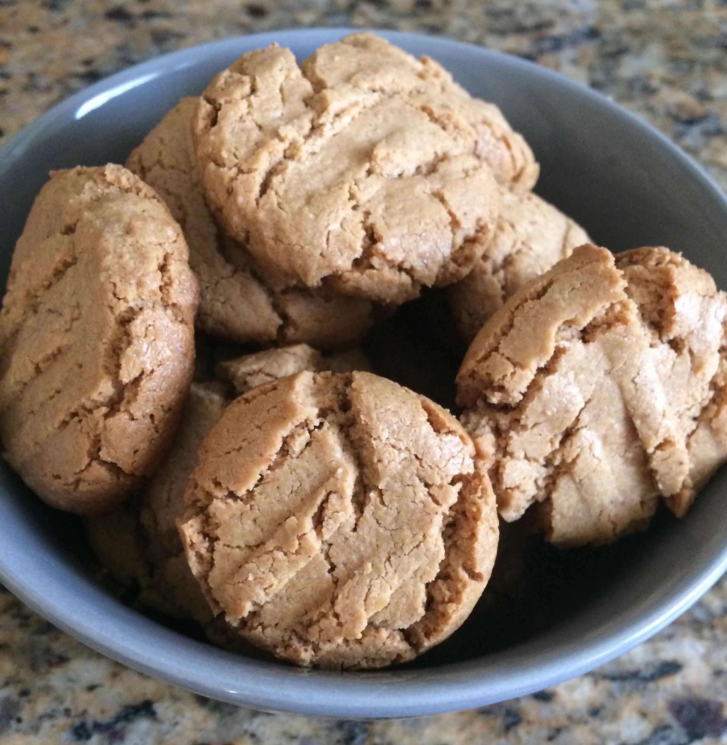 Печенье на арахисовой пасте – кулинарный рецепт