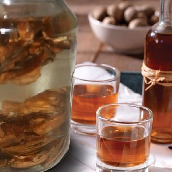 Настойка на перегородках грецкого ореха на водке - рецепты, советы