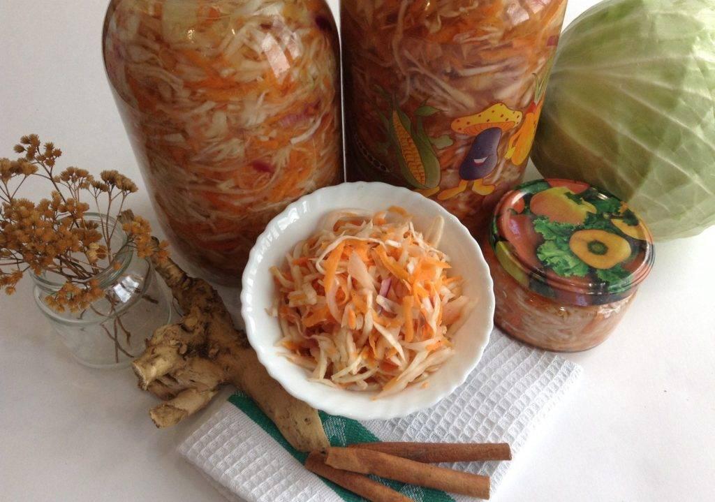 Маринованная капуста на зиму в банках – 10 вкусных рецептов хрустящей капусты