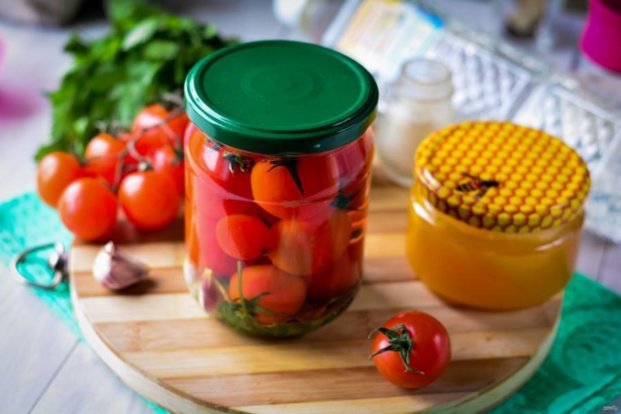 Помидоры с медом на зиму: рецепты, правила хранения