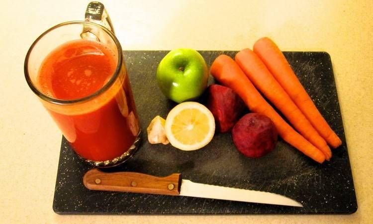 Яблочно-морковный сок: польза и вред