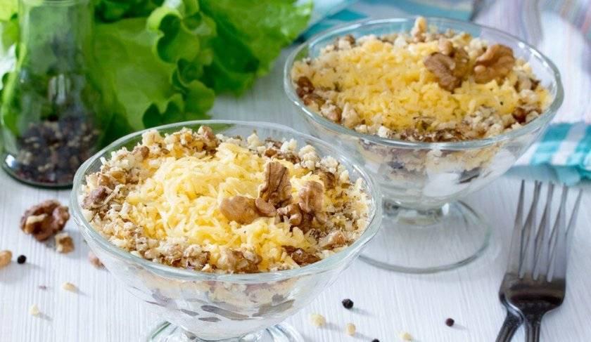 Классические салаты с курицей - 16 рецептов приготовления пошагово - 1000.menu