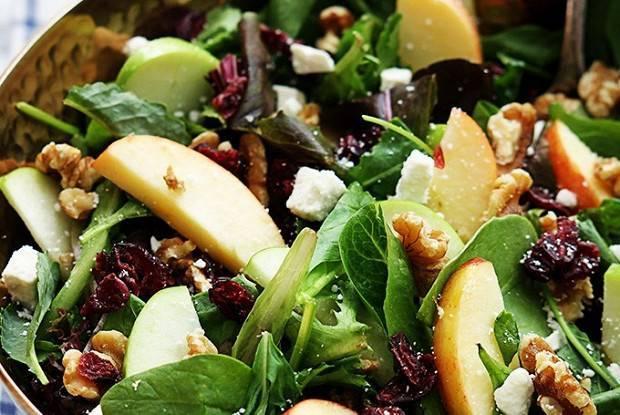Рецепты салат с кедровым орехом