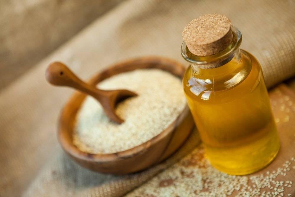 Кунжутное масло: полезные свойства и противопоказания, состав | здоровье и красота