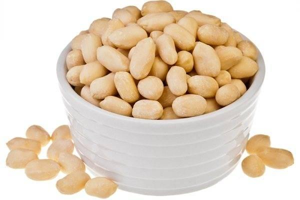 Какой арахис полезнее жареный или сырой | польза и вред