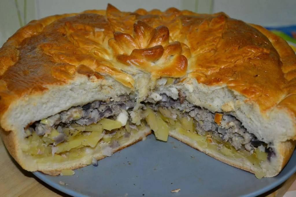 Картофельный пирог — 12 вкусных рецептов