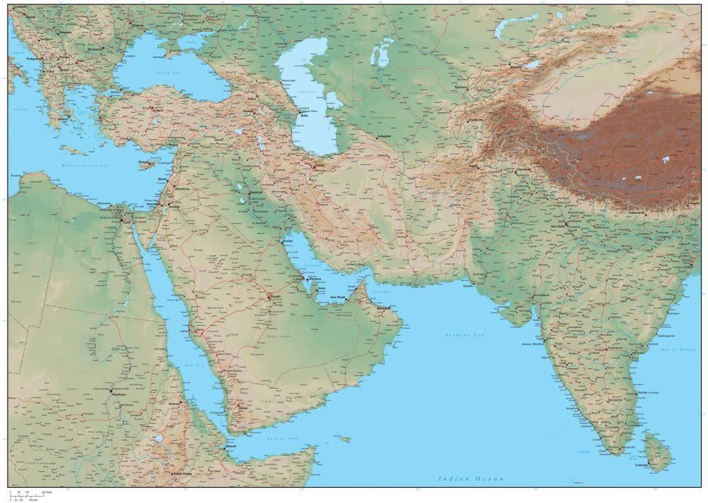 Страны ближнего востока и их особенности