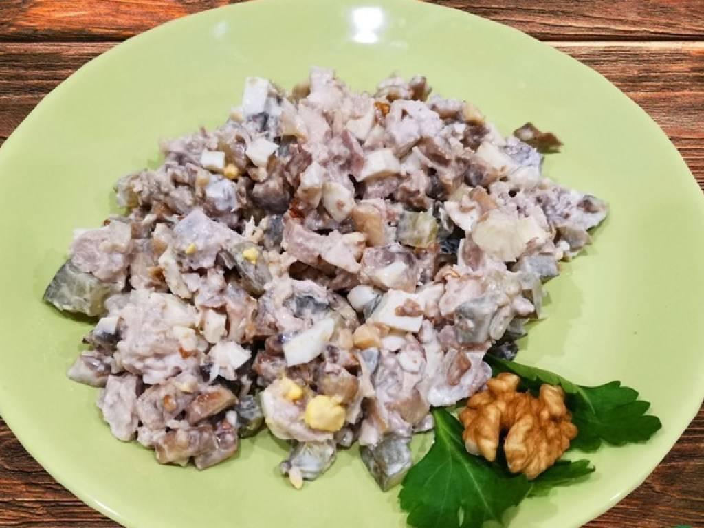 Салат с грецким орехом - 226 домашних вкусных рецептов приготовления