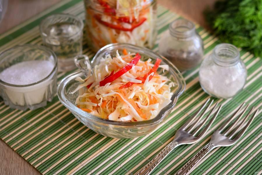 Капуста провансаль быстрого приготовления пошаговый рецепт