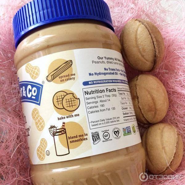 Диета на арахисовой пасте: эффективность
