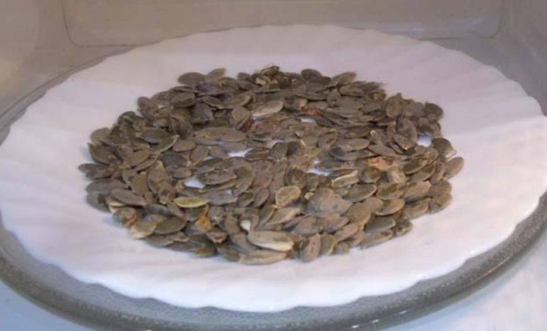 Как сушить тыквенные семечки в домашних условиях (на семена и для еды) с фото пошагово