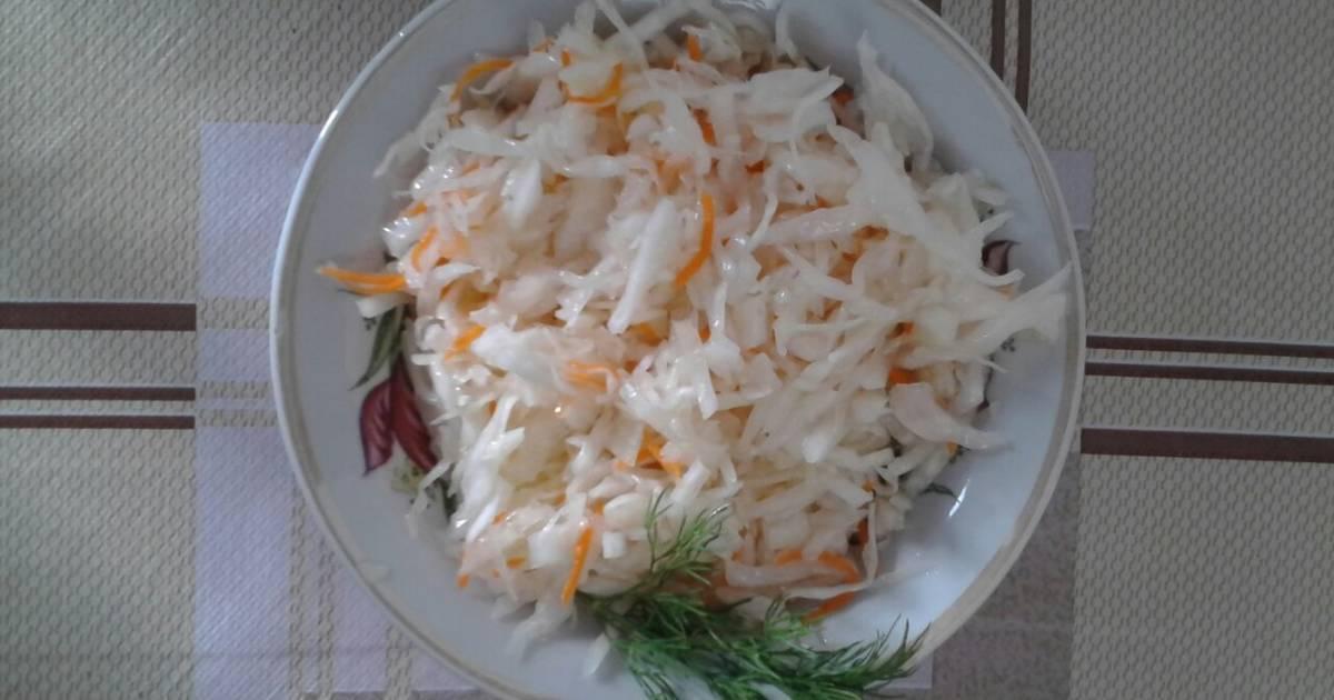 Рецепт квашеной капусты с водкой в банке - рыболовный караван